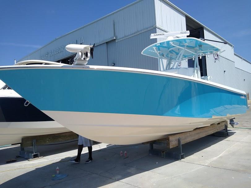 Boat detailing Sarasota Bradenton