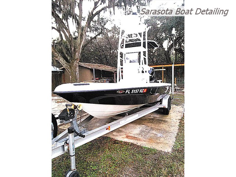 24 foot Bay Boat