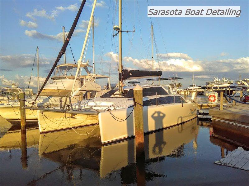 38 foot catamaran detail