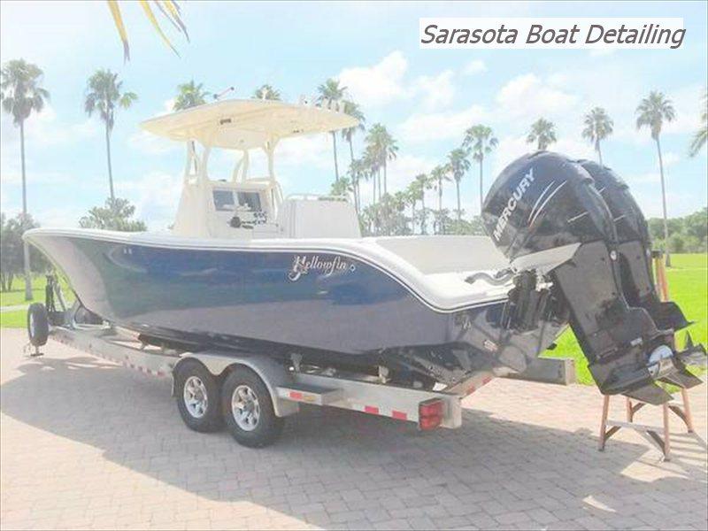 Boat Detailing Sarasota Bradenton We Come To You Call 941